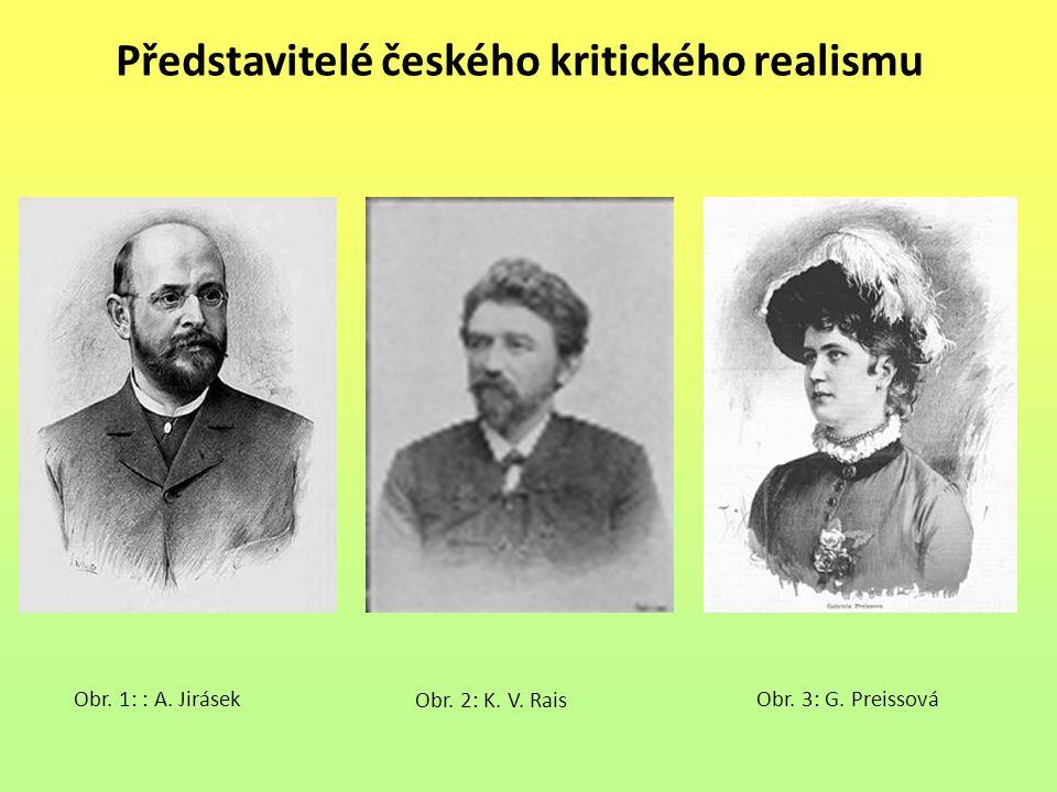 Představitelé českého kritického realismu