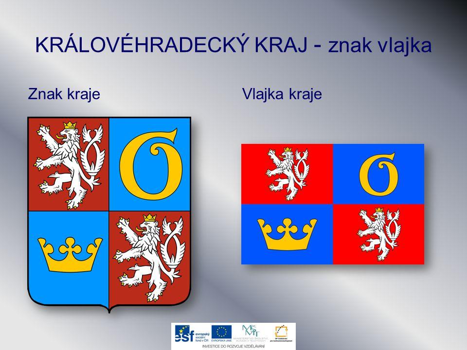 KRÁLOVÉHRADECKÝ KRAJ - znak vlajka
