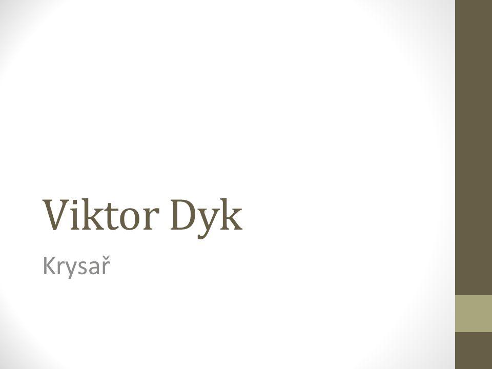 Viktor Dyk Krysař