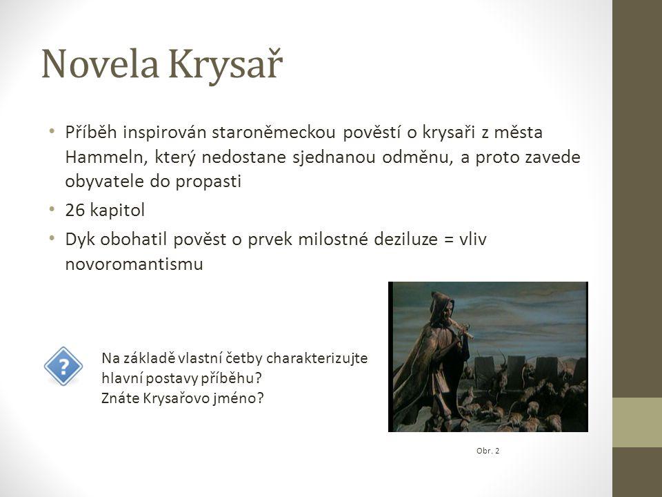 Novela Krysař
