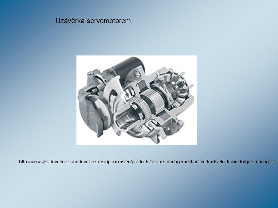 Uzávěrka servomotorem
