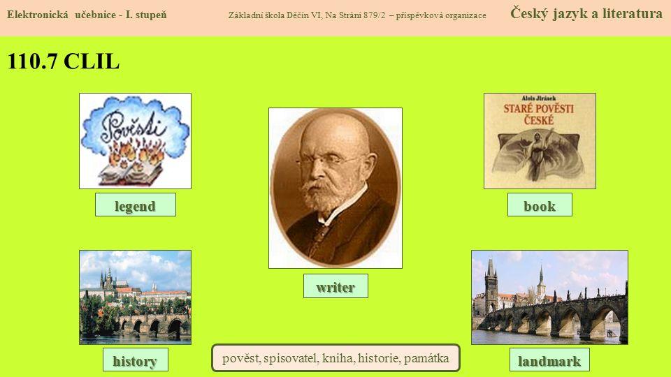 pověst, spisovatel, kniha, historie, památka