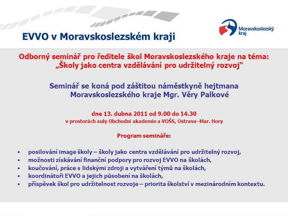 v prostorách auly Obchodní akademie a VOŠS, Ostrava–Mar. Hory