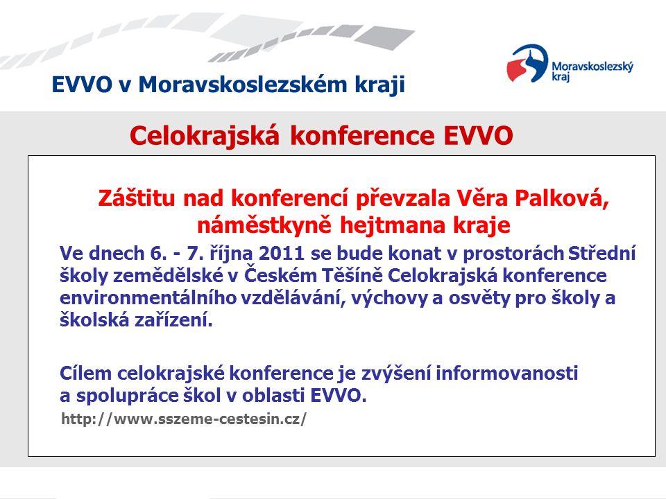 Celokrajská konference EVVO