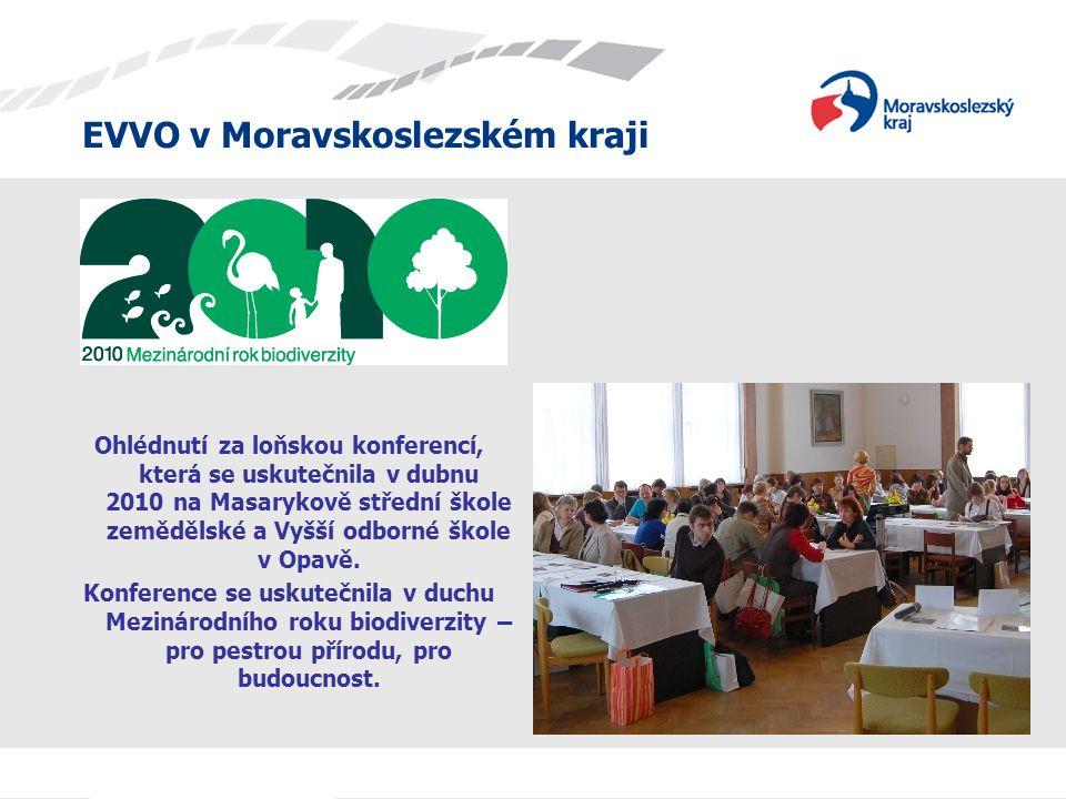 Ohlédnutí za loňskou konferencí, která se uskutečnila v dubnu 2010 na Masarykově střední škole zemědělské a Vyšší odborné škole v Opavě.