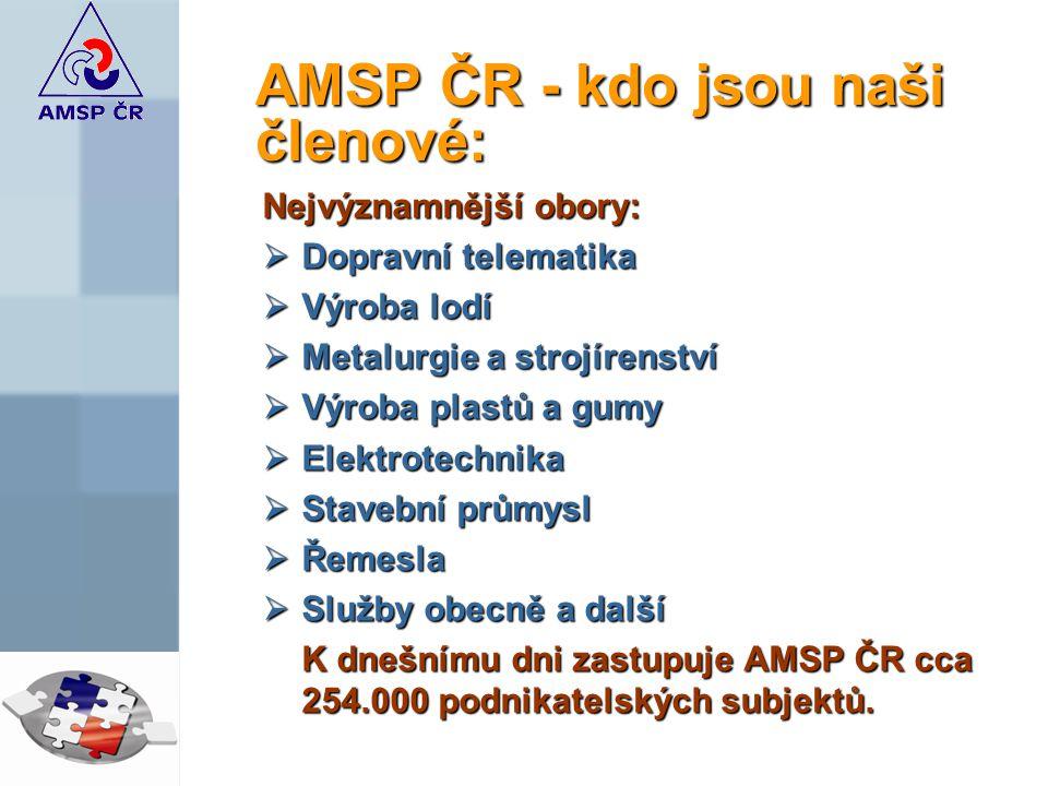 AMSP ČR - kdo jsou naši členové: