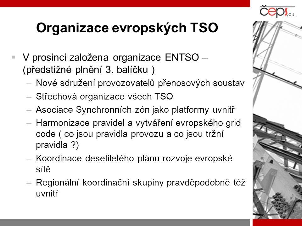 Organizace evropských TSO