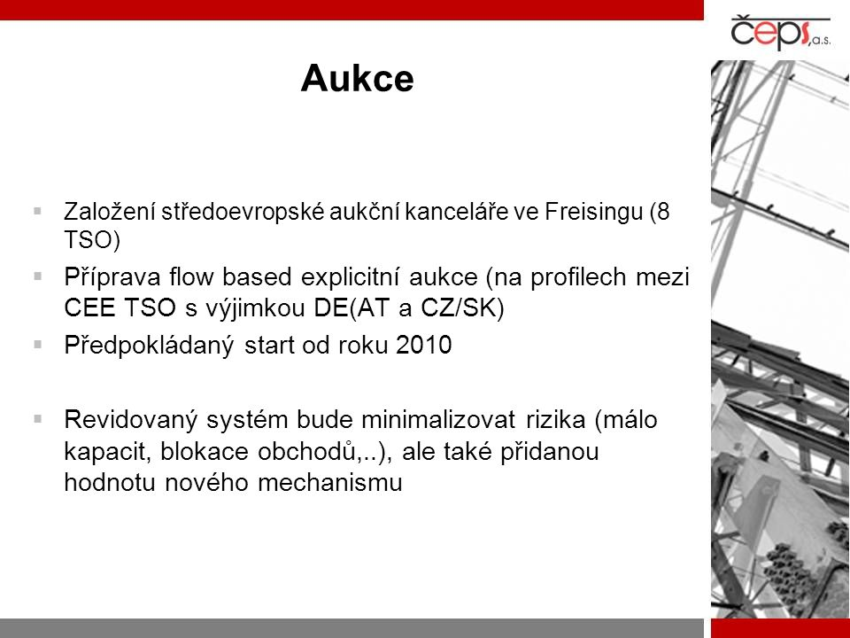 Aukce Založení středoevropské aukční kanceláře ve Freisingu (8 TSO)