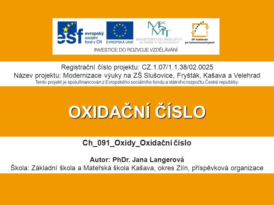 Ch_091_Oxidy_Oxidační číslo