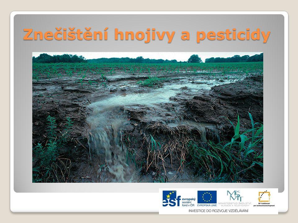 Znečištění hnojivy a pesticidy