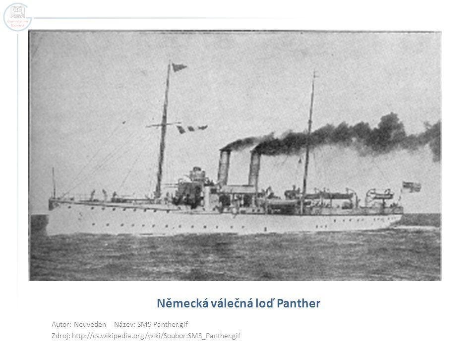 Německá válečná loď Panther
