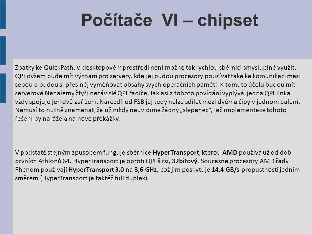 Počítače VI – chipset
