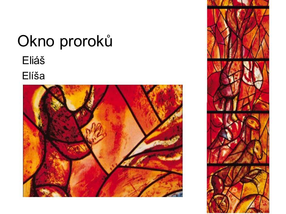 Okno proroků Eliáš Elíša