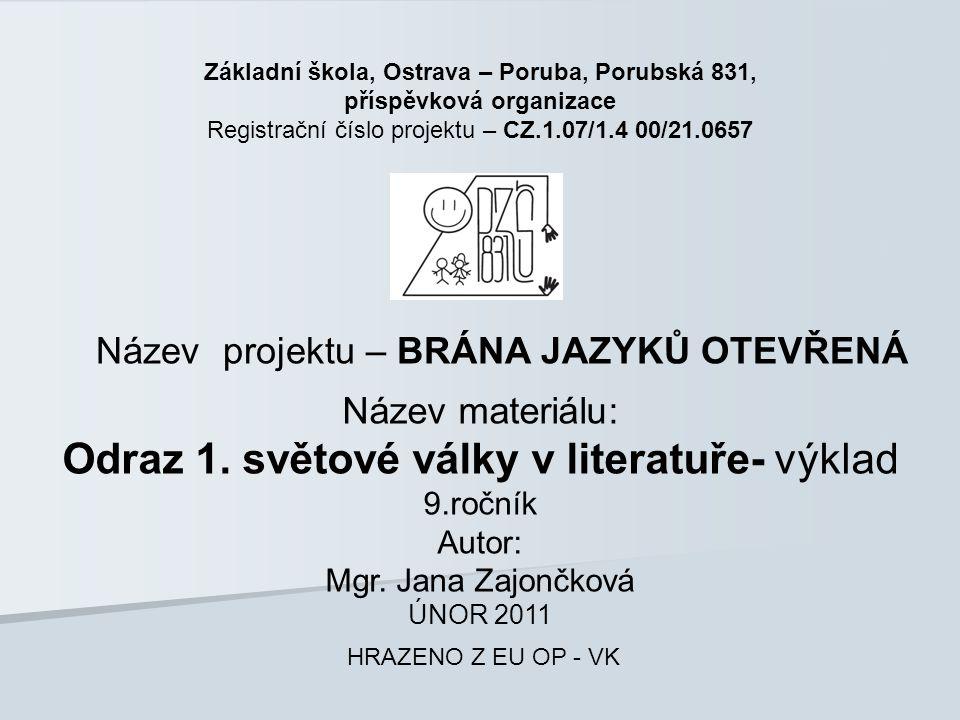 Základní škola, Ostrava – Poruba, Porubská 831, příspěvková organizace