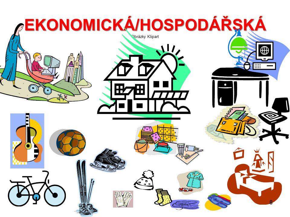 EKONOMICKÁ/HOSPODÁŘSKÁ Obrázky Klipart