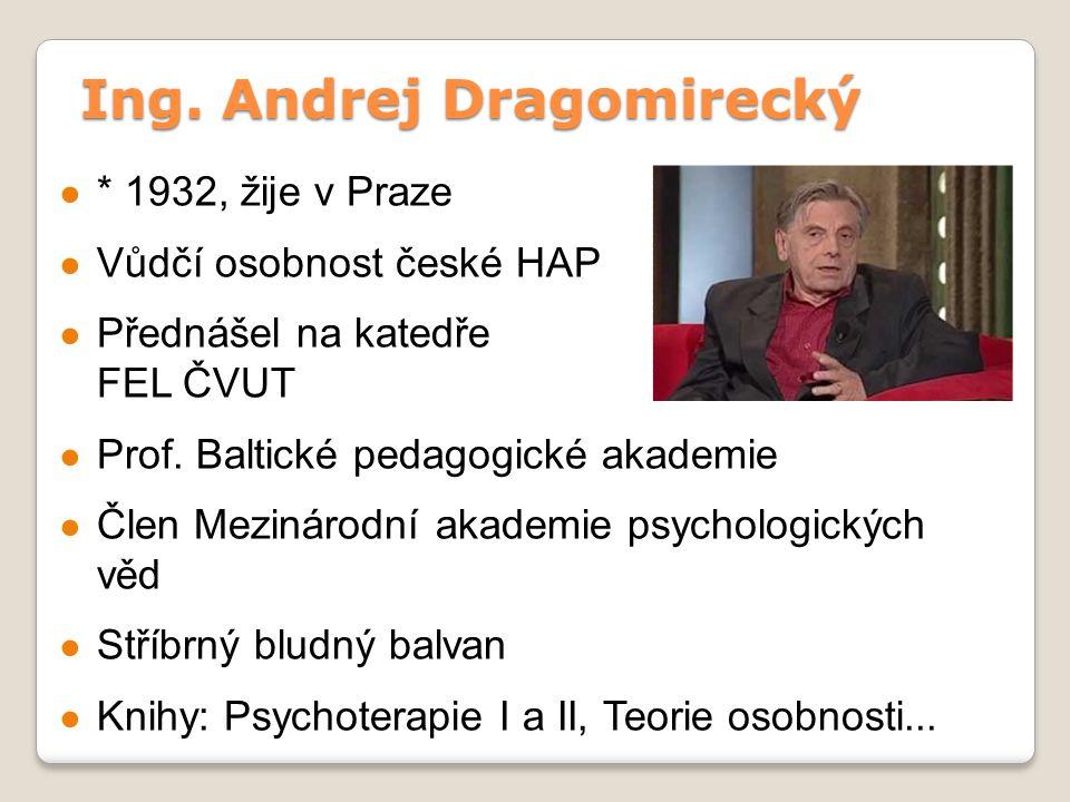 Ing. Andrej Dragomirecký