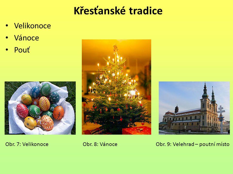 Křesťanské tradice Velikonoce Vánoce Pouť
