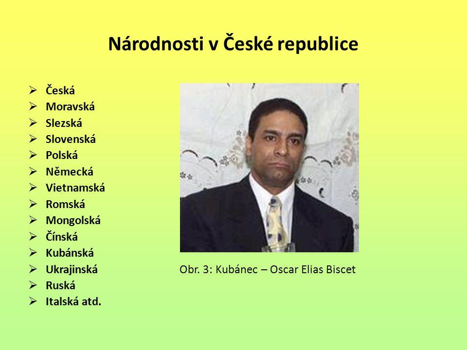 Národnosti v České republice