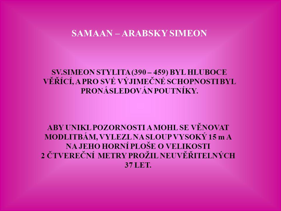 SAMAAN – ARABSKY SIMEON