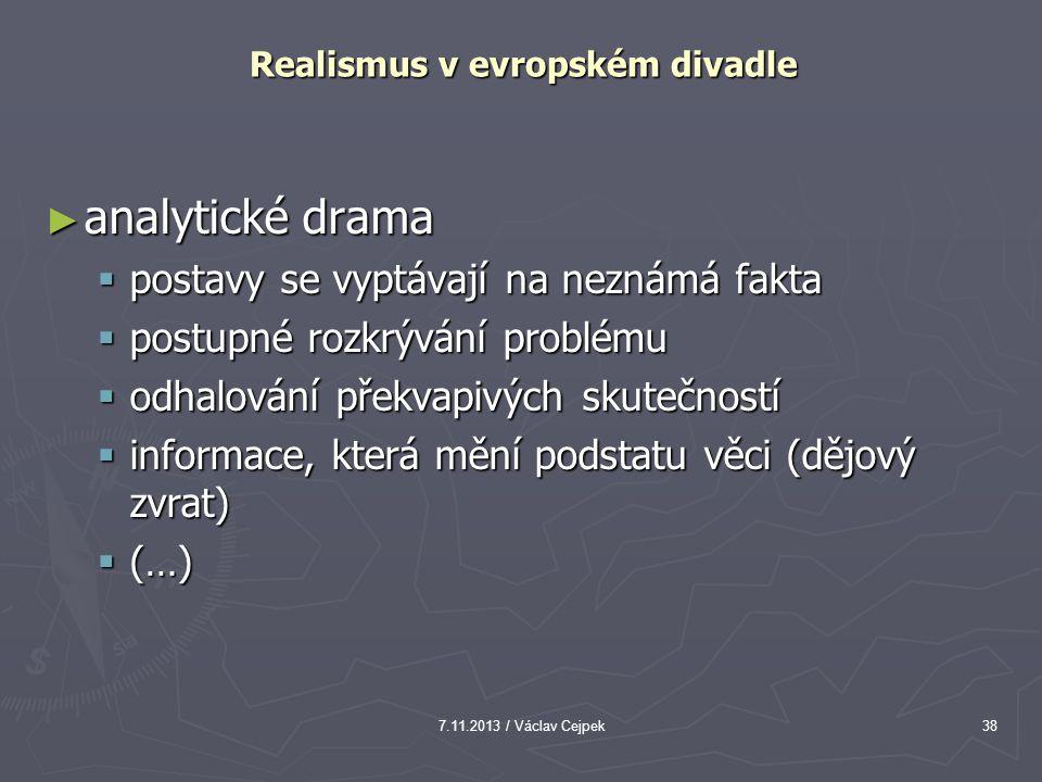 Realismus v evropském divadle