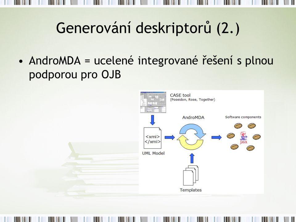Generování deskriptorů (2.)