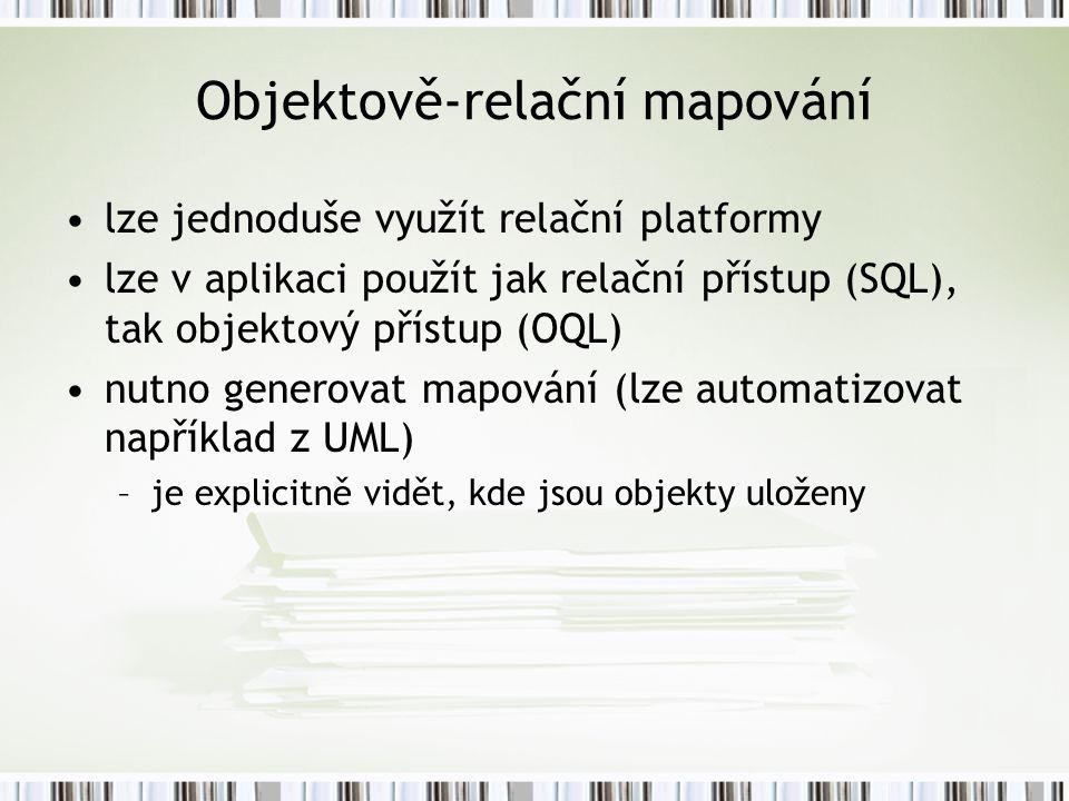 Objektově-relační mapování