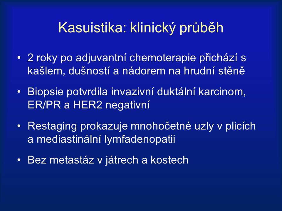 Kasuistika: klinický průběh