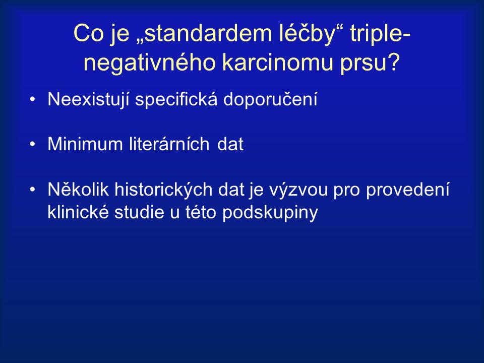 """Co je """"standardem léčby triple-negativného karcinomu prsu"""