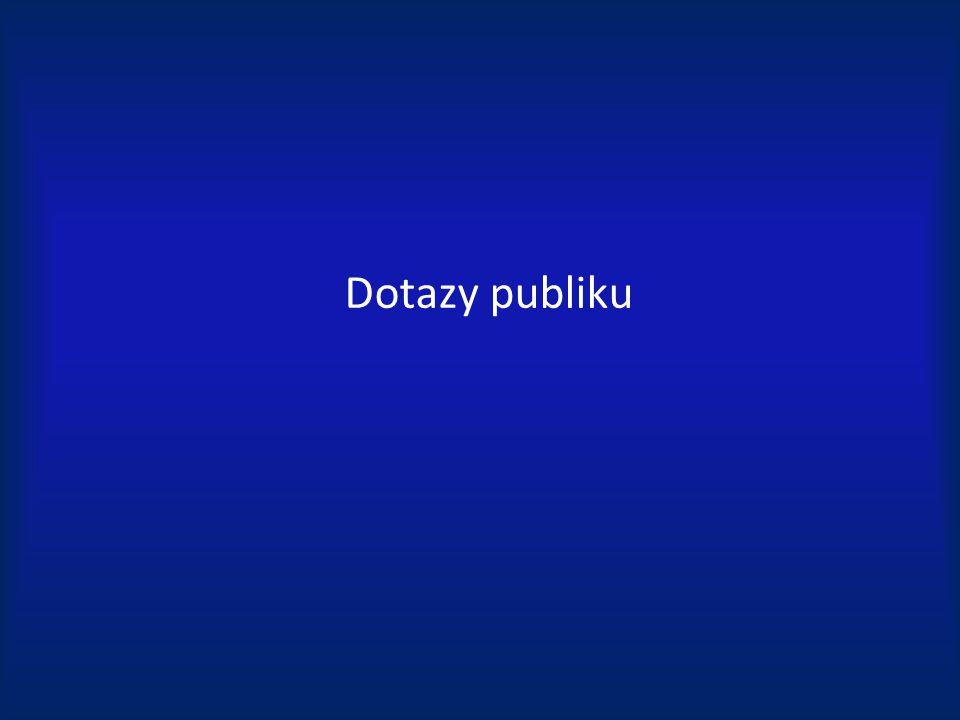 Dotazy publiku