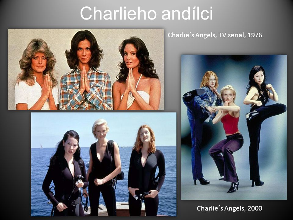 Charlieho andílci Charlie´s Angels, TV serial, 1976