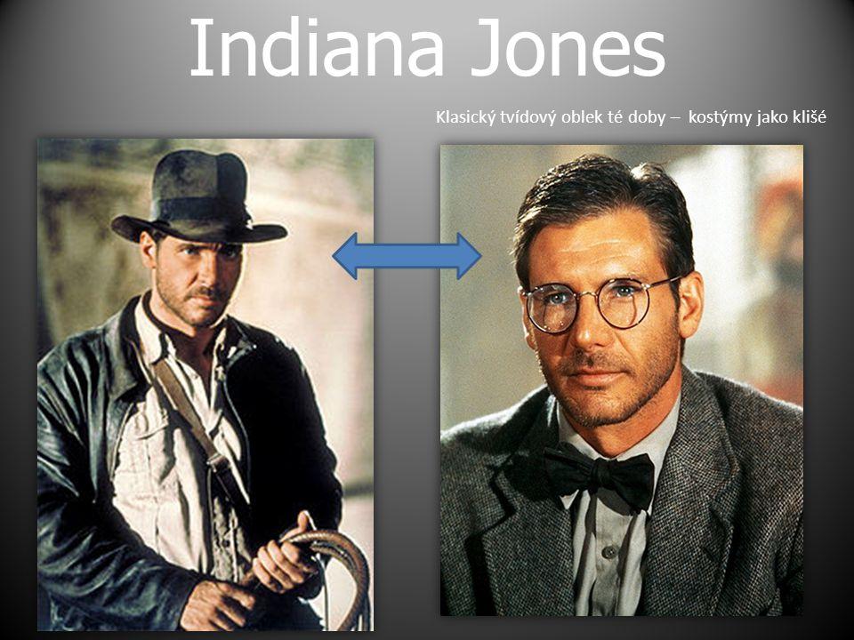 Indiana Jones Klasický tvídový oblek té doby – kostýmy jako klišé