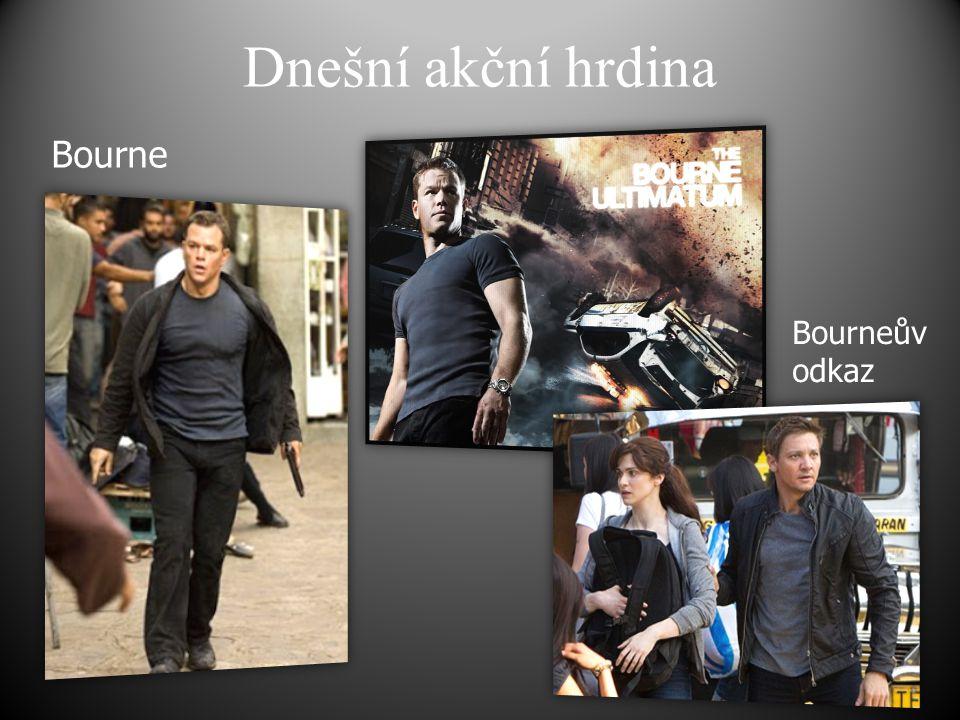 Dnešní akční hrdina Bourne Bourneův odkaz
