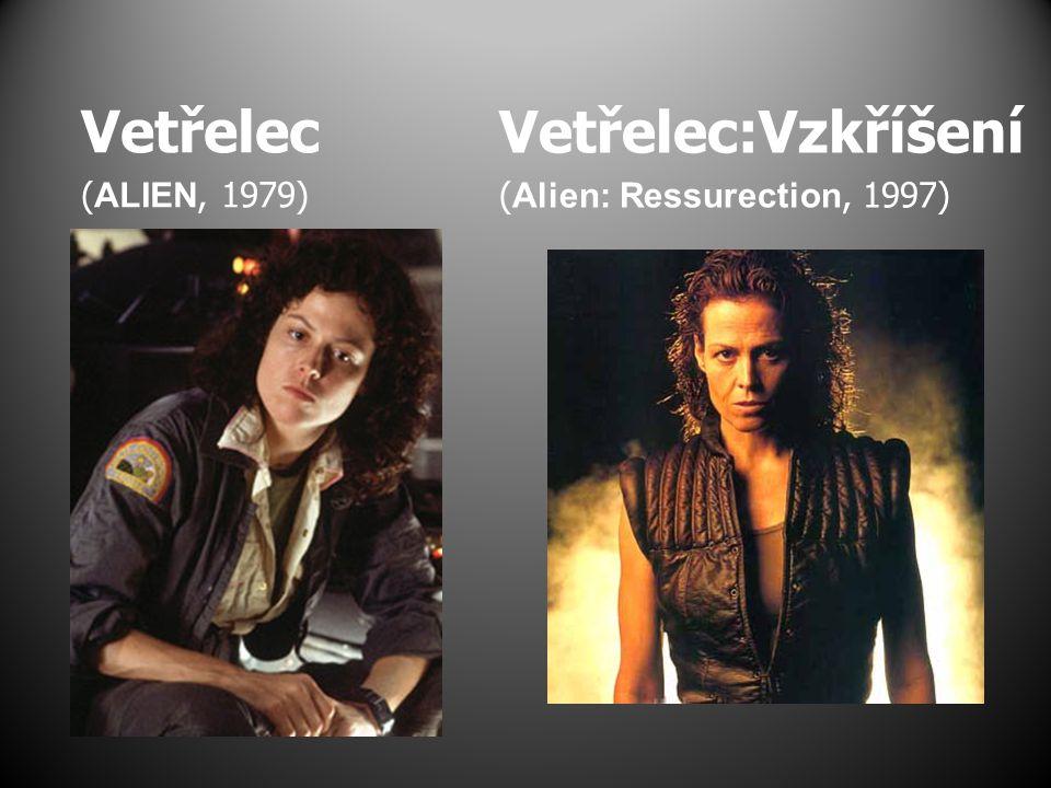 Vetřelec:Vzkříšení (Alien: Ressurection, 1997) Vetřelec (ALIEN, 1979)