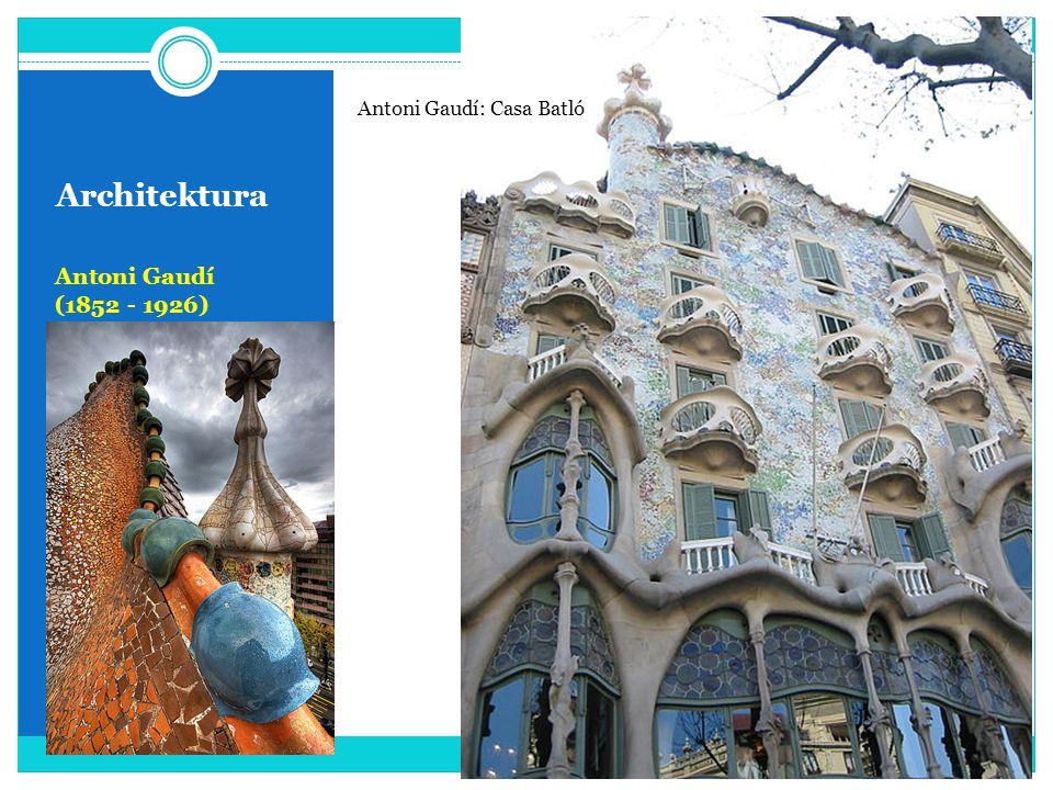 Antoni Gaudí: Casa Batló