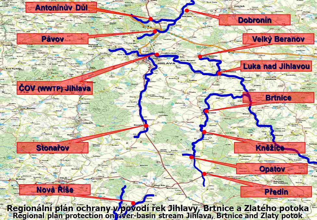 Regionální plán ochrany v povodí řek Jihlavy, Brtnice a Zlatého potoka