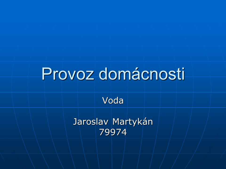 Voda Jaroslav Martykán 79974