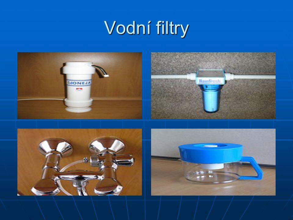 Vodní filtry