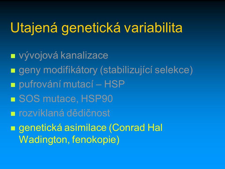 Utajená genetická variabilita