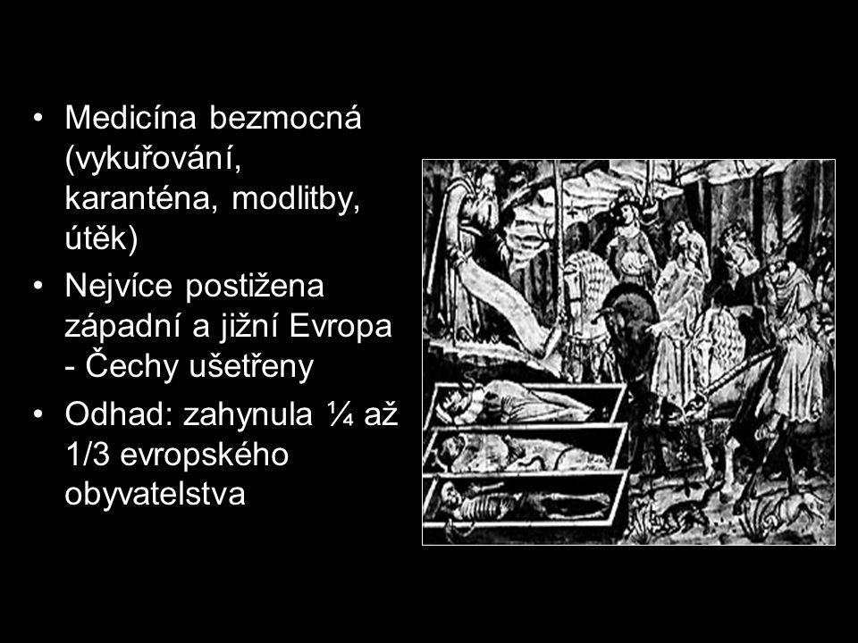 Medicína bezmocná (vykuřování, karanténa, modlitby, útěk)