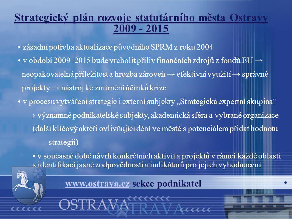 Strategický plán rozvoje statutárního města Ostravy 2009 - 2015