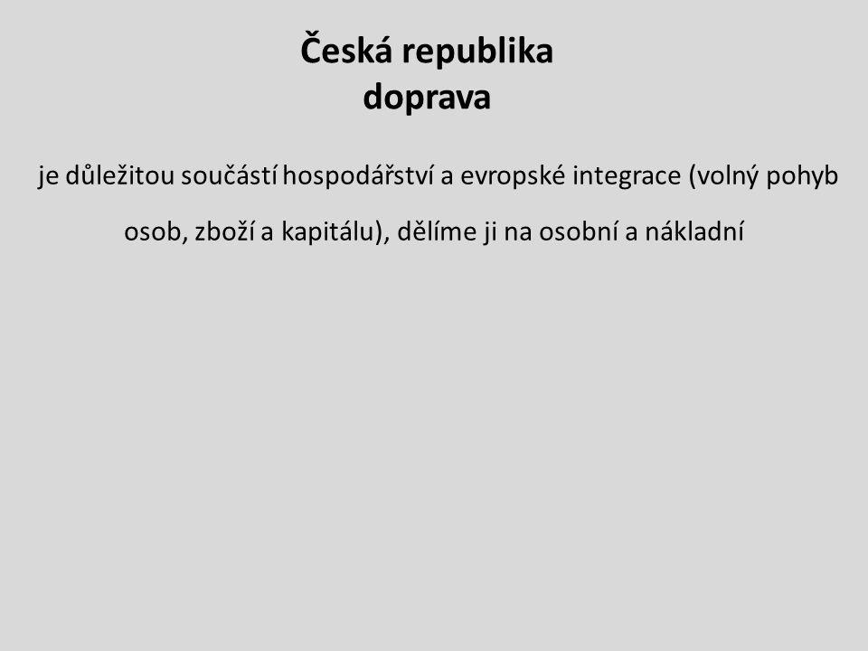 Česká republika doprava