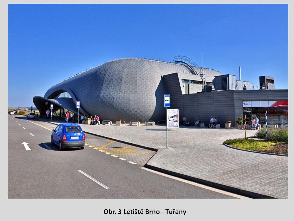 Obr. 3 Letiště Brno - Tuřany
