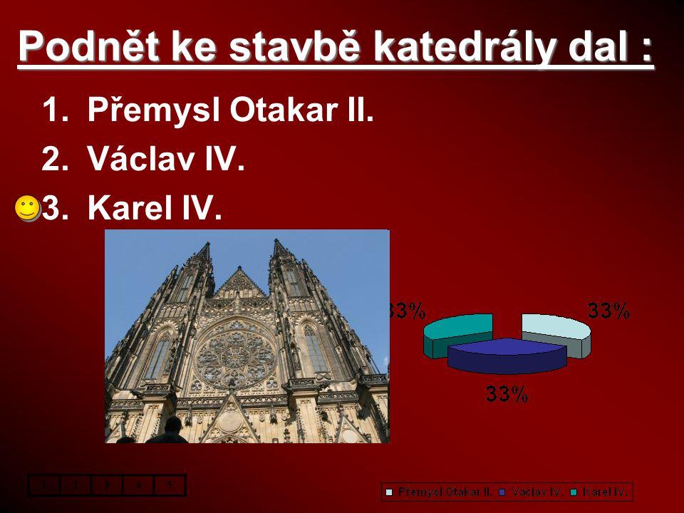 Podnět ke stavbě katedrály dal :