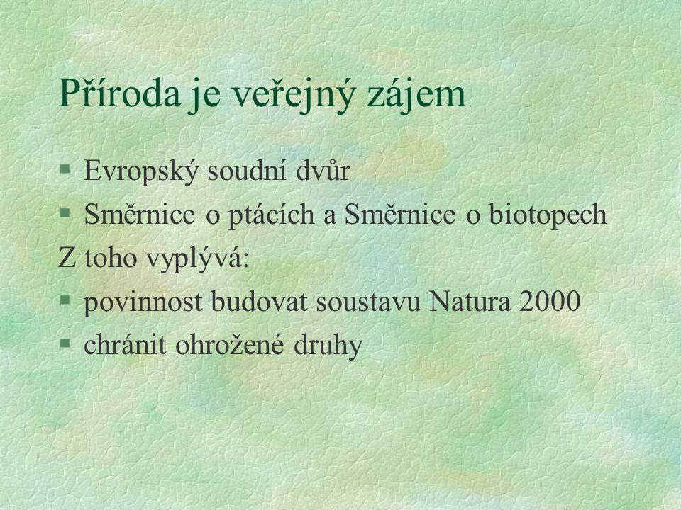 Příroda je veřejný zájem