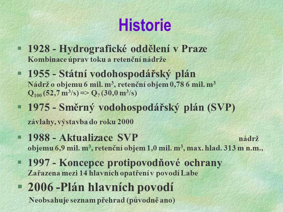 Historie 2006 -Plán hlavních povodí