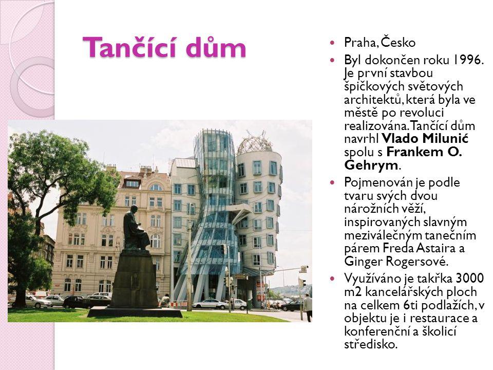 Tančící dům Praha, Česko
