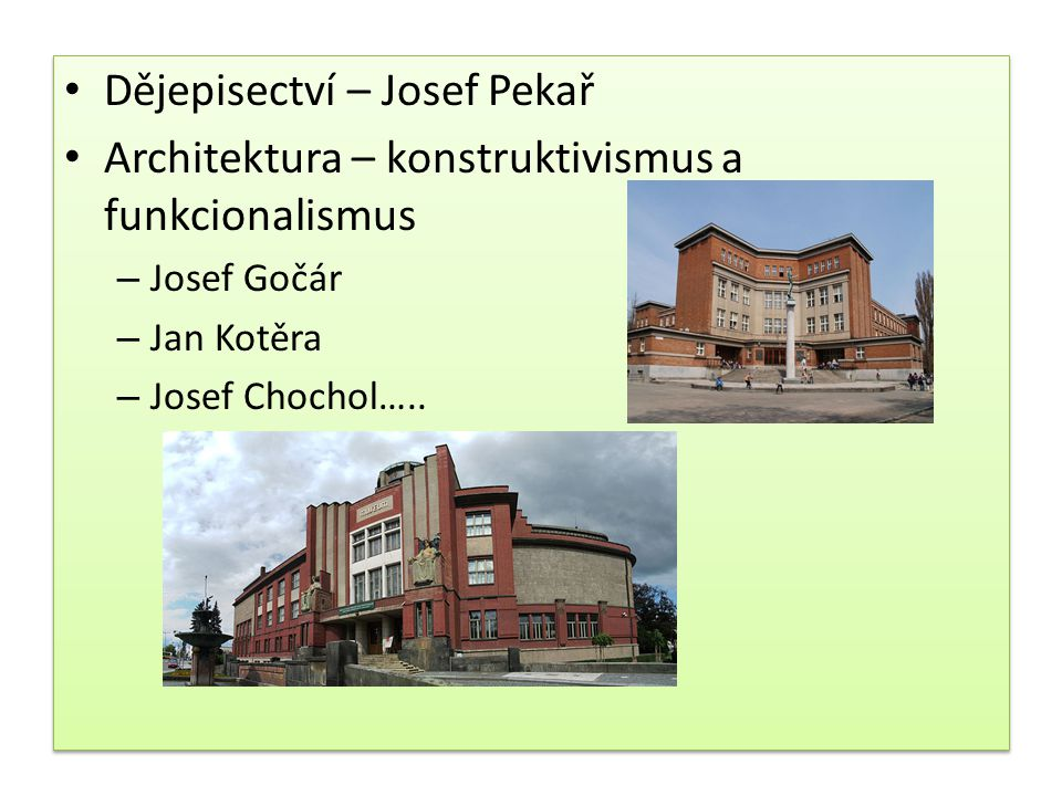 Dějepisectví – Josef Pekař