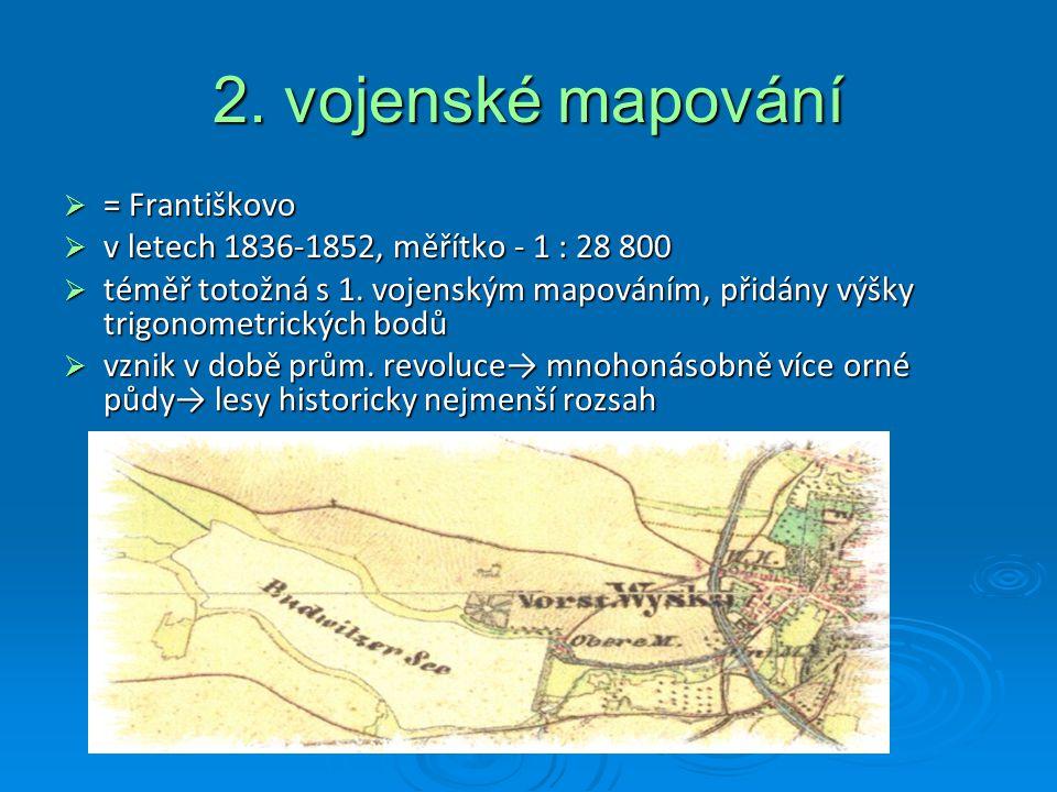2. vojenské mapování = Františkovo