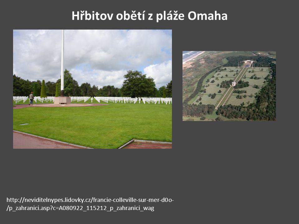Hřbitov obětí z pláže Omaha