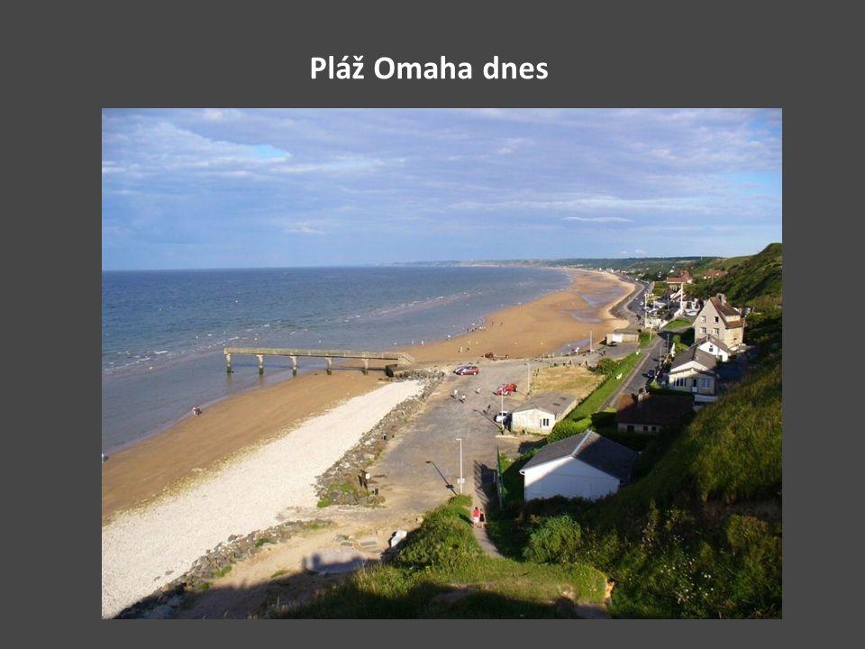 Pláž Omaha dnes